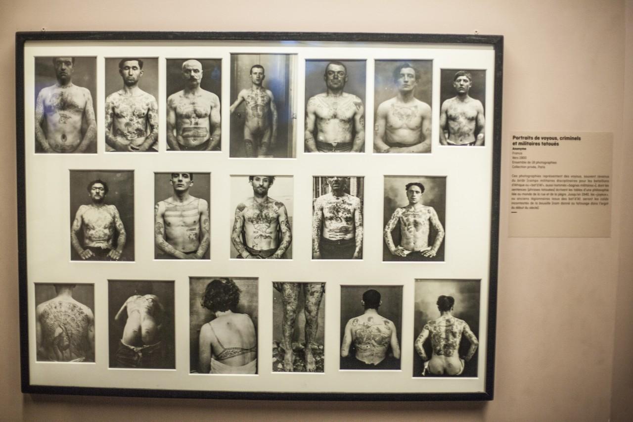Татуировщики и татуировка - выставка в Париже
