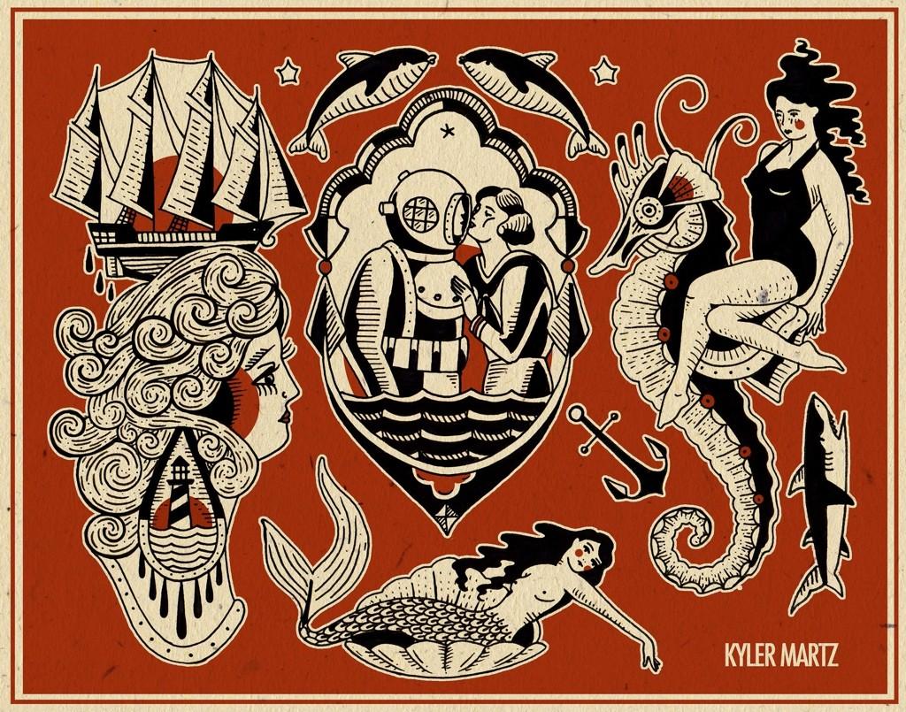 американский художник из Сиэтла Kyler Martz