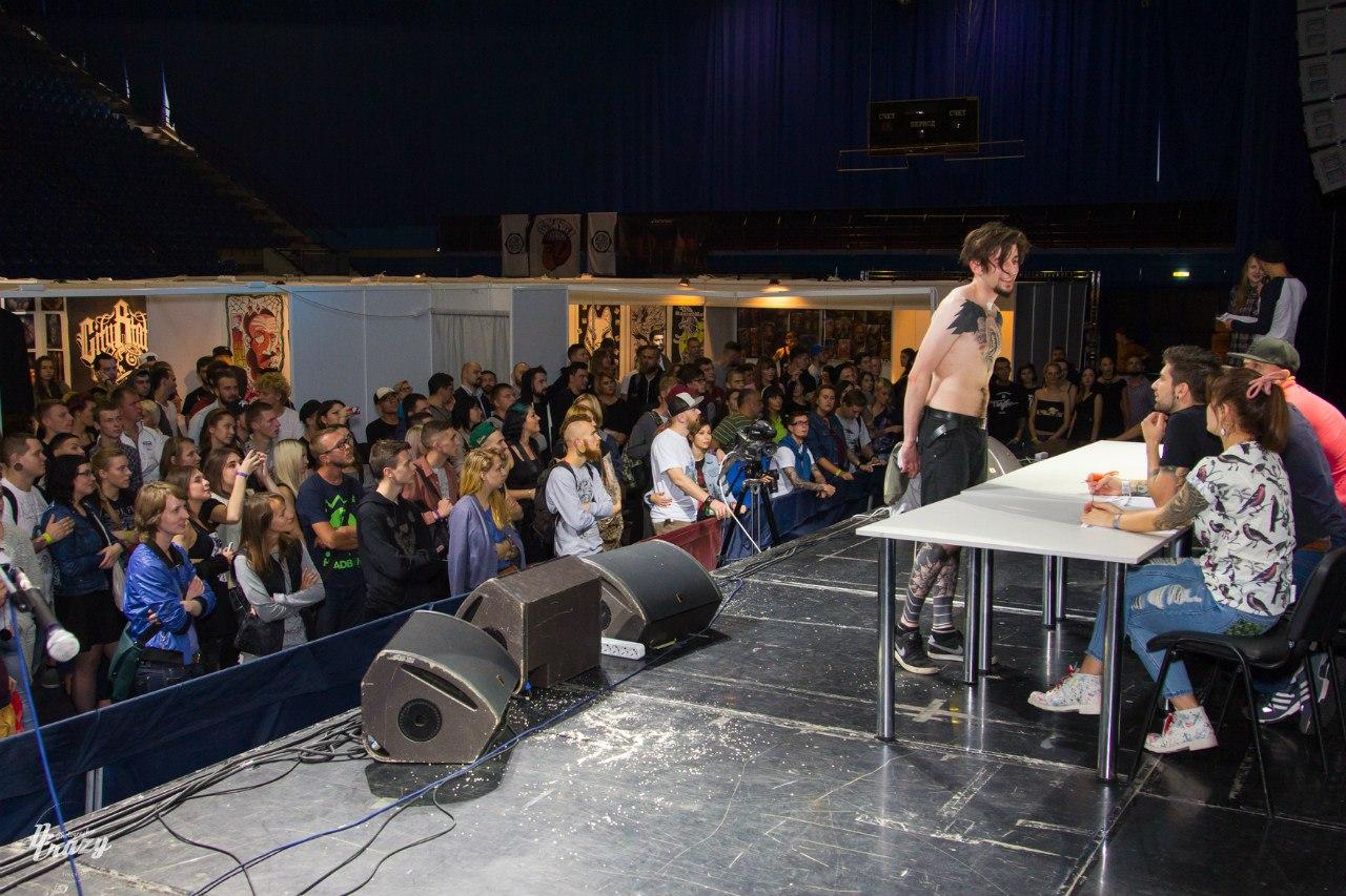 2-я тату-конвенция в Минске 2016