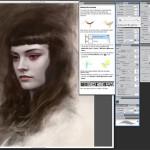 Сильные, загадочные и коварные женщины в цифровом искусстве Тома Багшоу