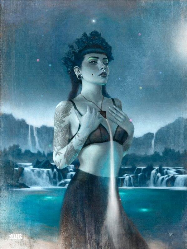 Tom Bagshaw: сильные, загадочные и коварные женщины