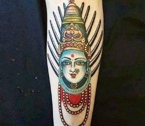 татуировку богини Йеламма