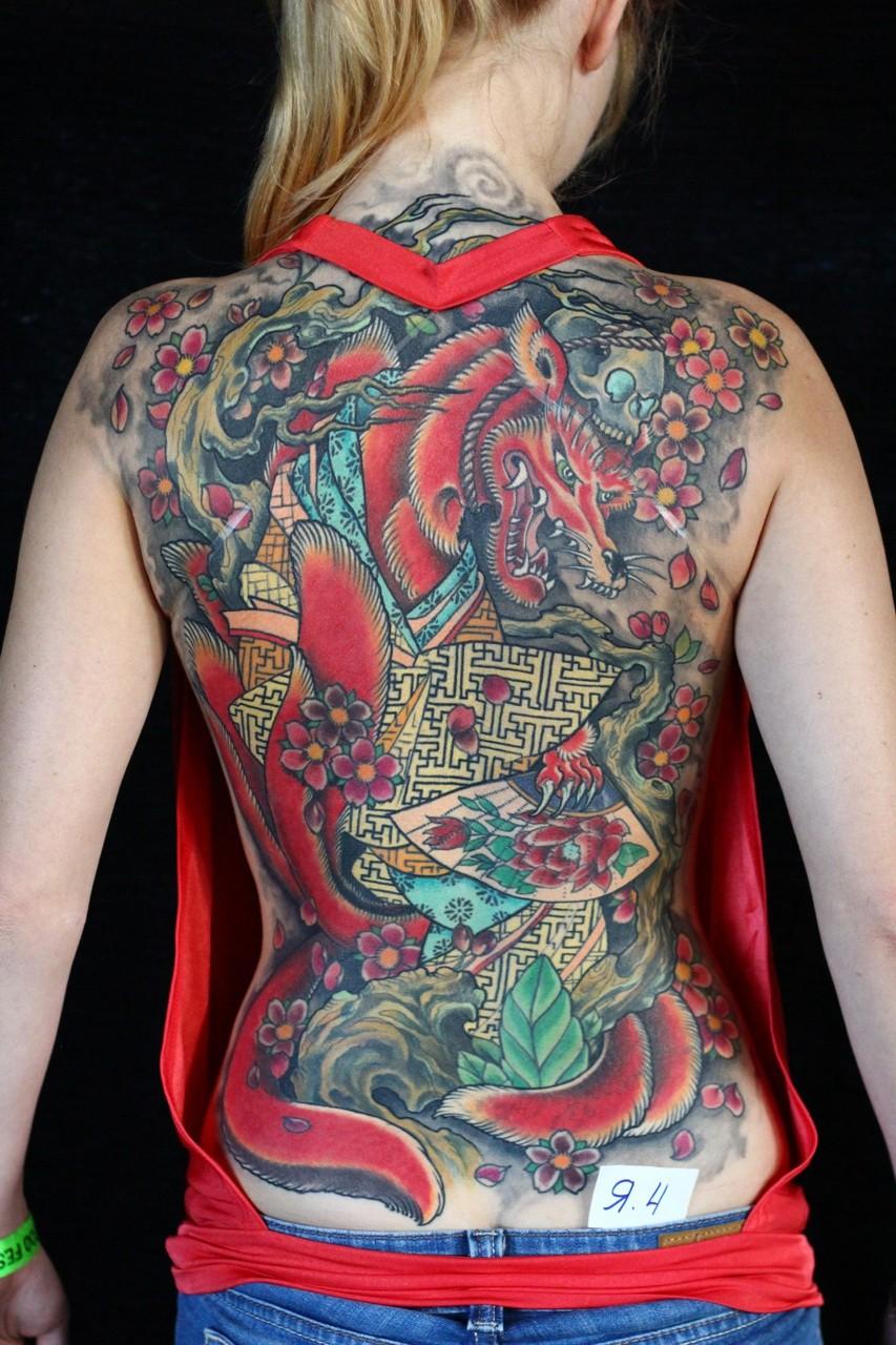 IV фестиваль татуировки в Казани - лучшие татуировки