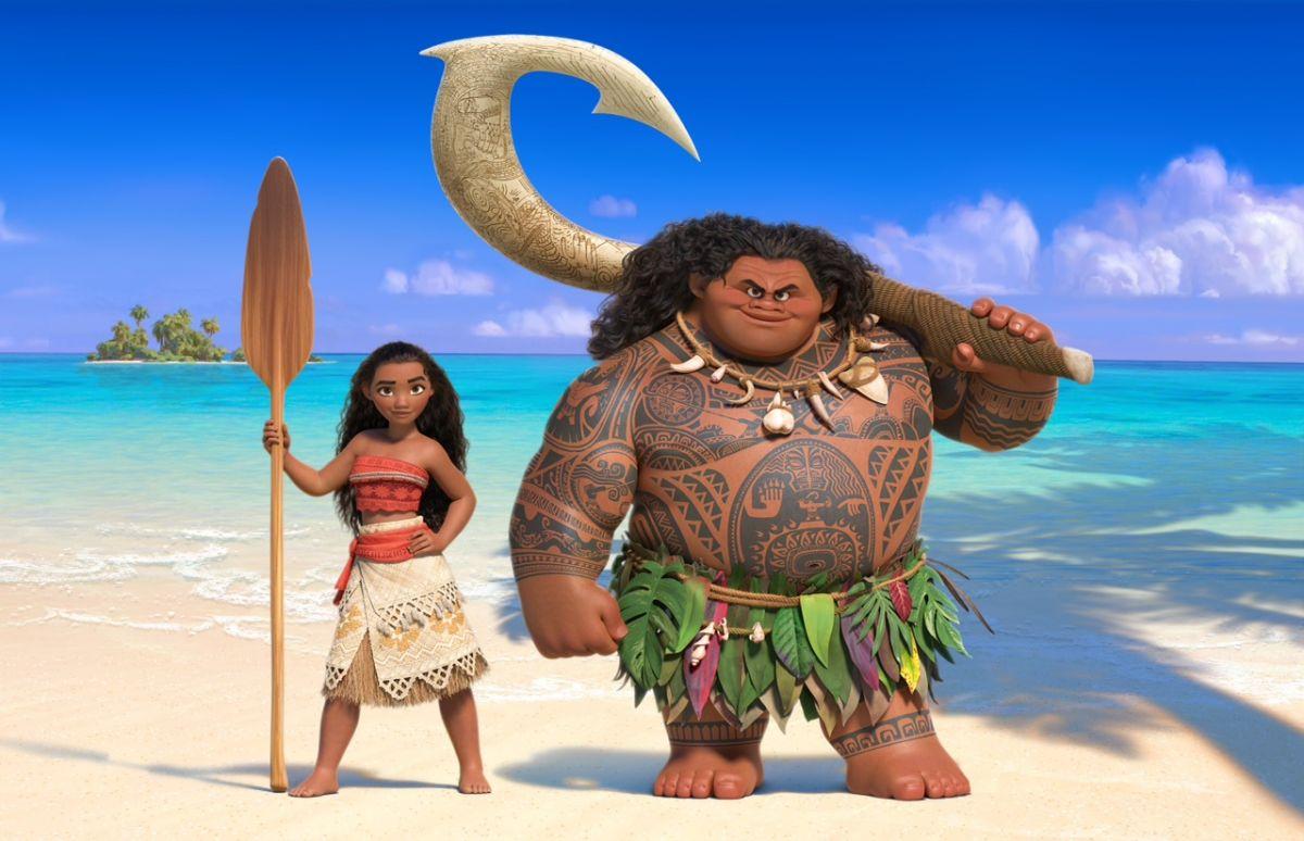 Моана и полубог Мауи