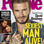 Дэвид Бекхэм – самый сексуальный мужчина 2015 года по версии журнала People