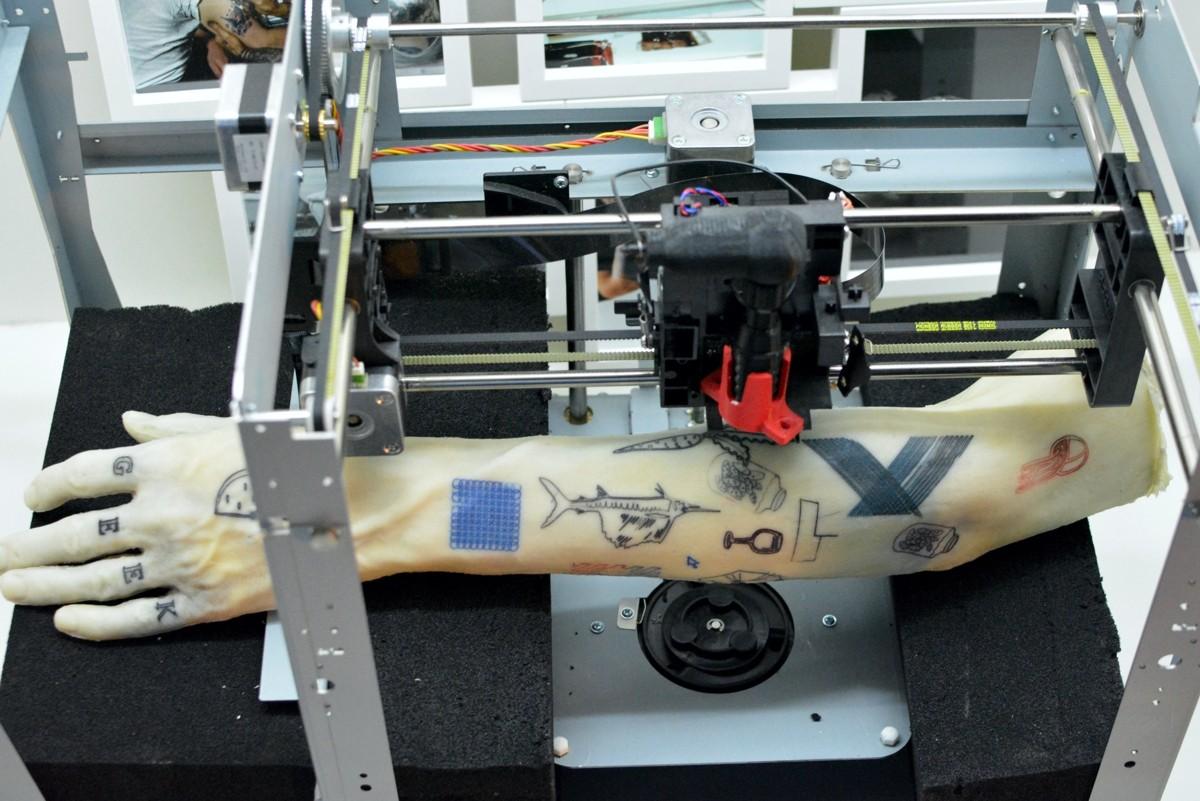 3d-принтер для татуировок