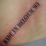 В Бельгии татуировки станут причиной отказа в выплате пособия по безработице
