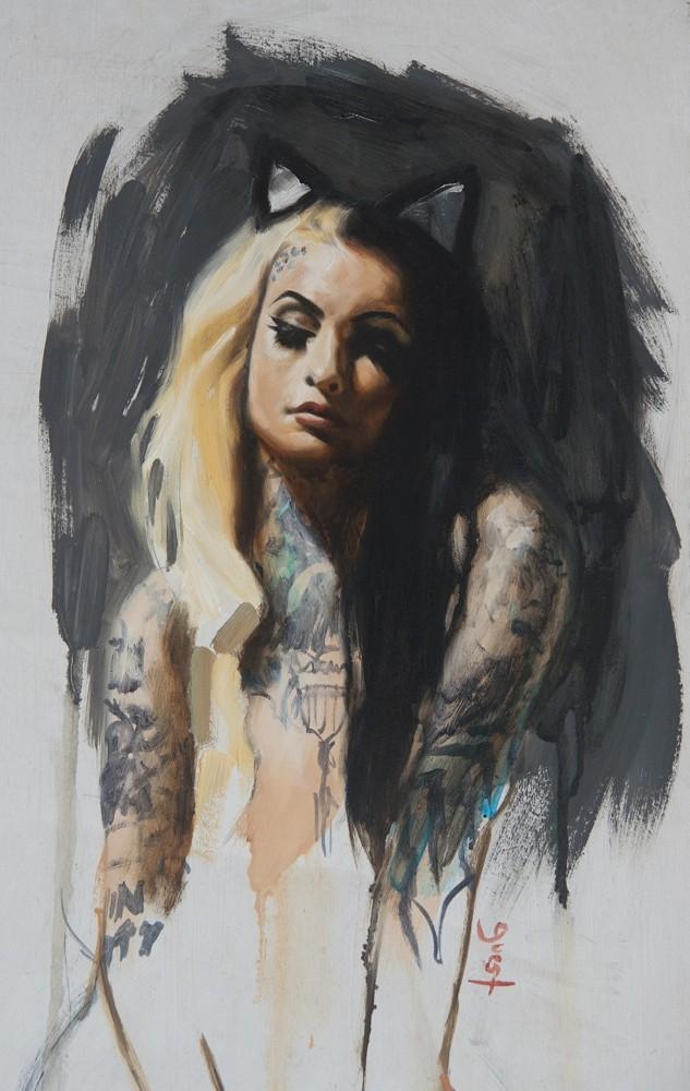 Chris Guest – носители татуировок и живопись маслом