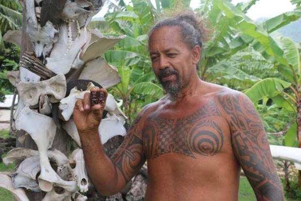 абориген острова Нуку-Хива