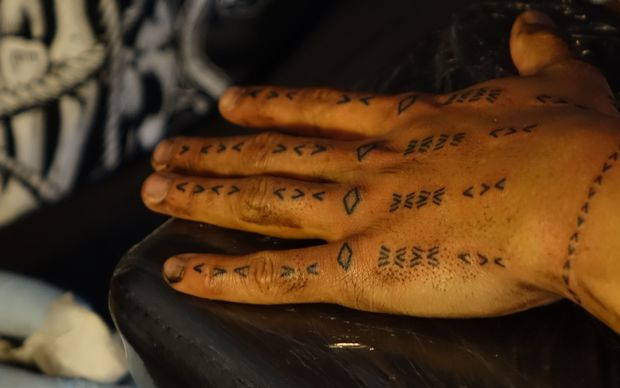 традиционная татуировка Самоа