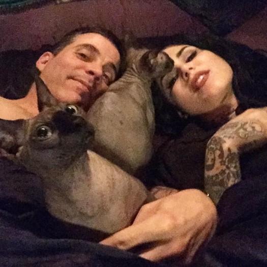 Kat Von D (Кэт Вон Ди) & Steve-O (Стив-О)