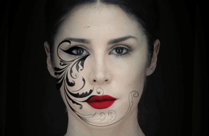 3D-мапирование лица Kat Von D