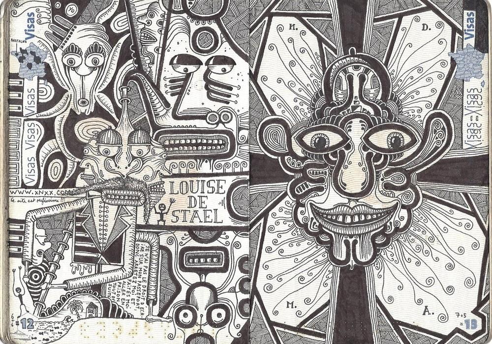 Leonard Combier - Загранпаспорт с татуировками