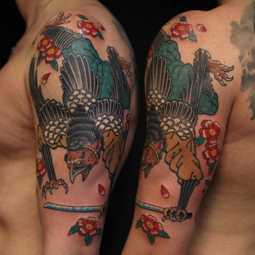 Сергей Буслаев (японская татуировка)