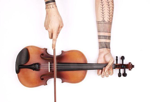 Romo Jack- татуированные руки