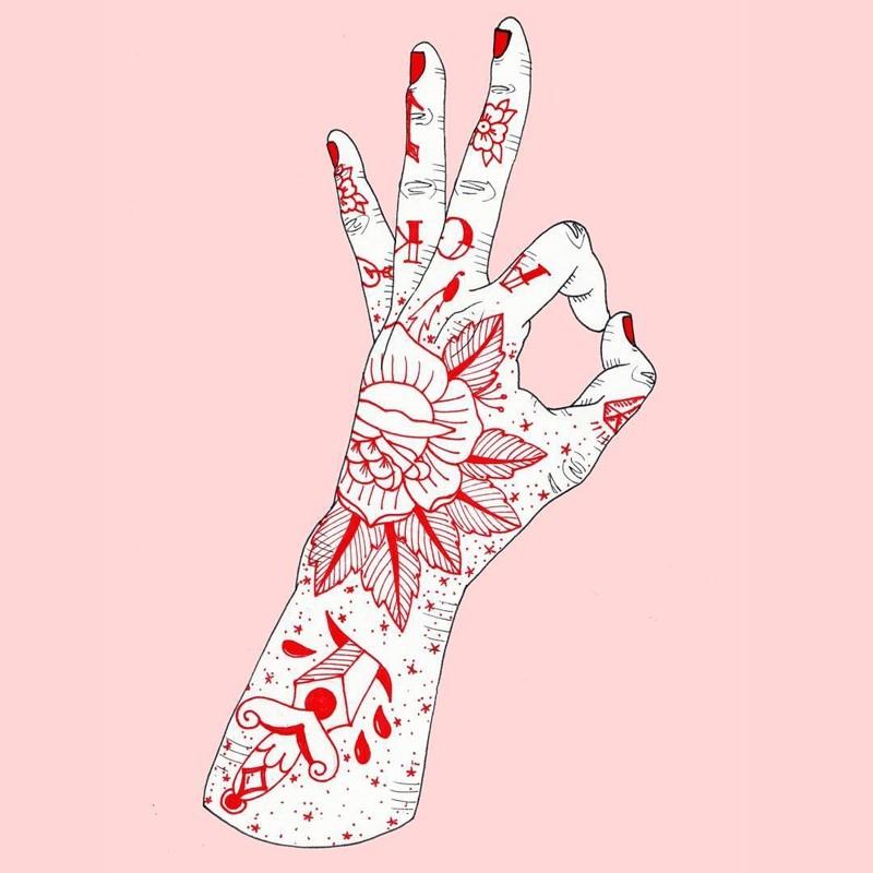 татуированные руки Scoobtoobins