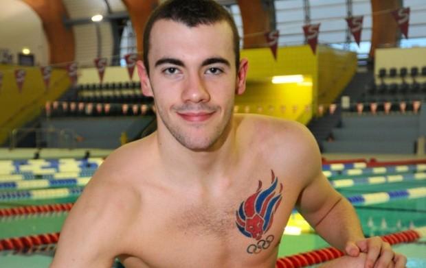 британский пловец Джозеф Крейг (Josef Craig)