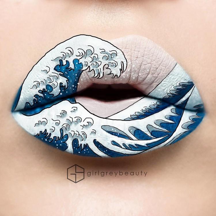мейкап на губах - Andrea Reed