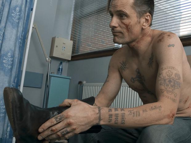 Вигго Мортенсен (Арагорн) - татуировка девять