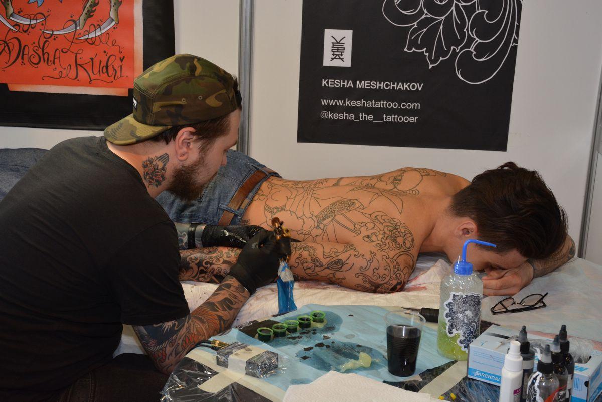 8-я международная тату-конвенция в Москве 2016