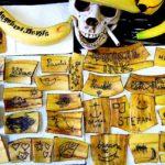 Студия татуировки специализирующаяся на бананах