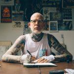 Mike Giant – художник, татуировщик, дальтоник