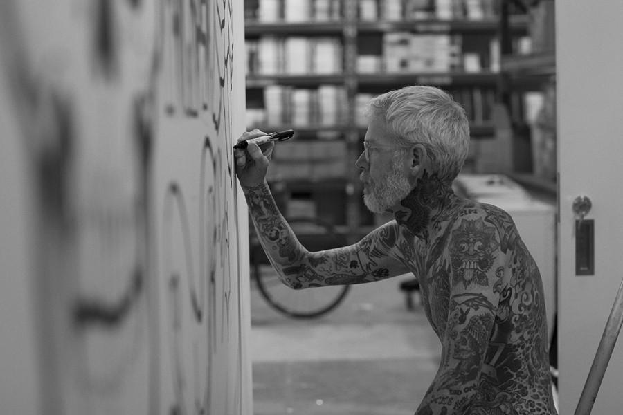 граффити: Майк Гигант (Mike Giant)