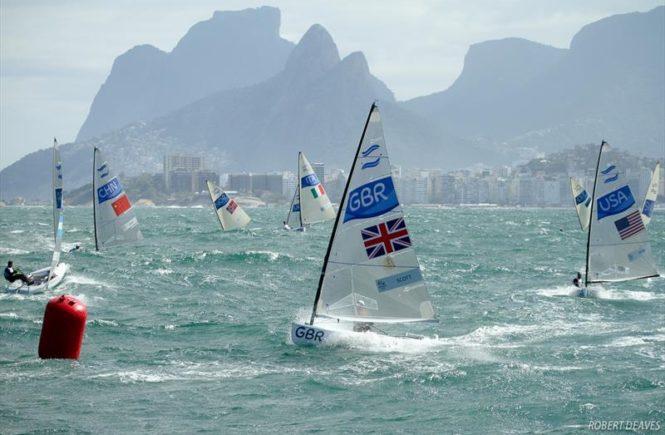 олимпийские игры в Рио 2016: класс Фин, парусные гонки