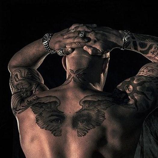 Вин Дизель - татуировка
