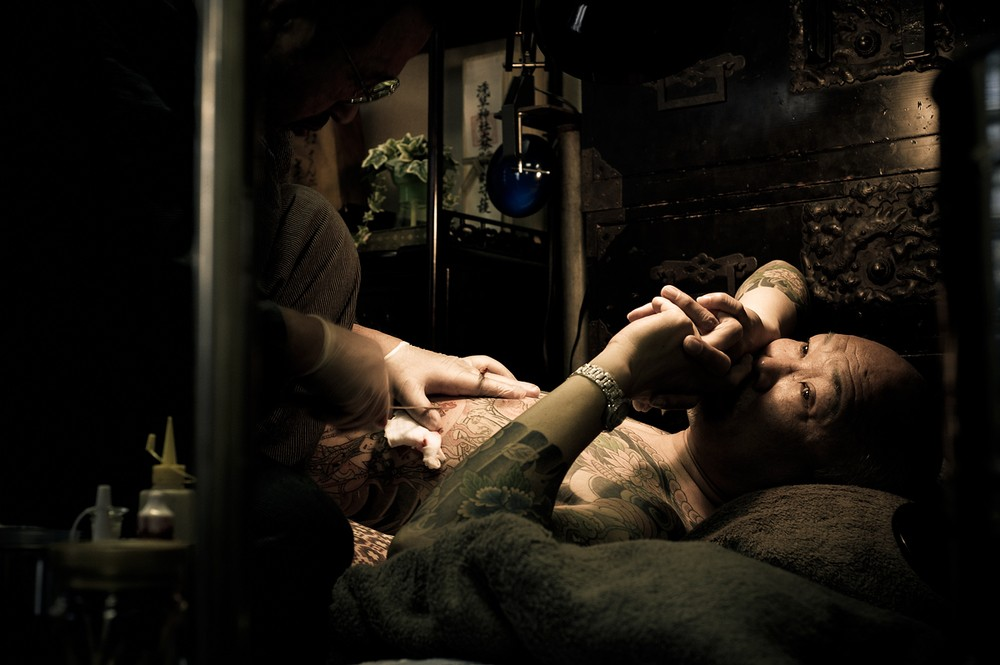 Антон Кустерс (Anton Kusters) : якудза в фотографиях
