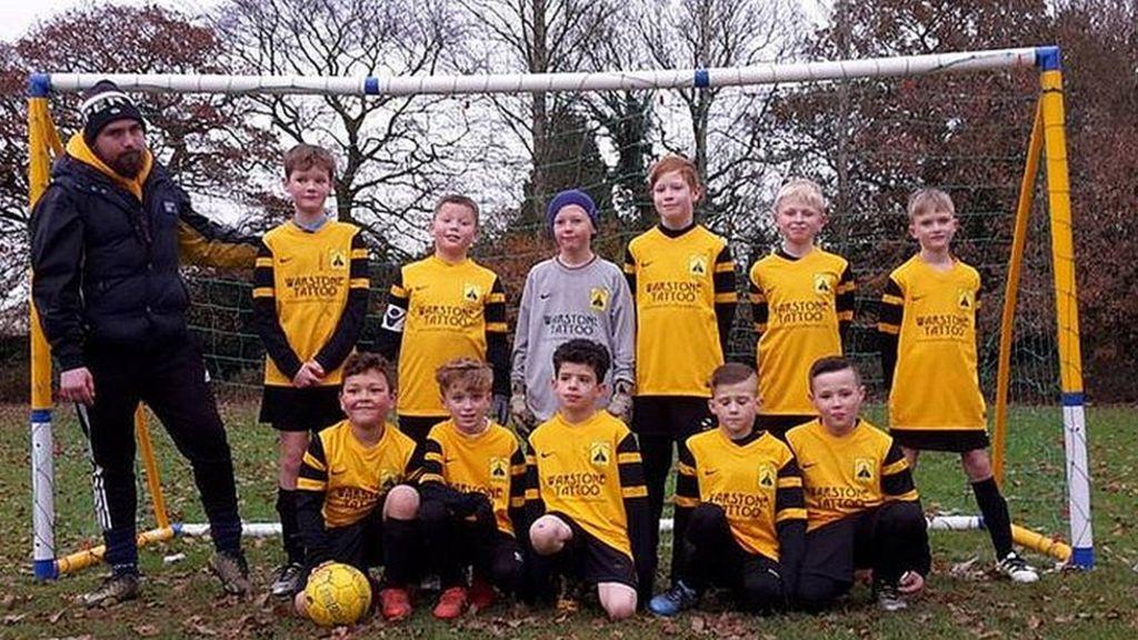 детская футбольная команда Kings Heath Concorde