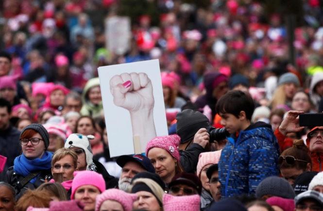 женский марш 2016, Вашингтон