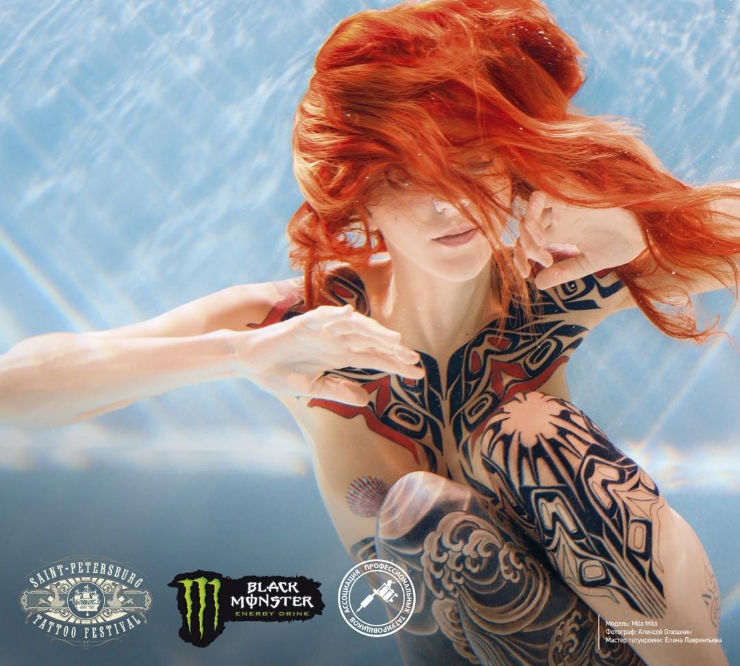 Мила Мила, фестиваль татуировки, Санкт-Петербург, 2017