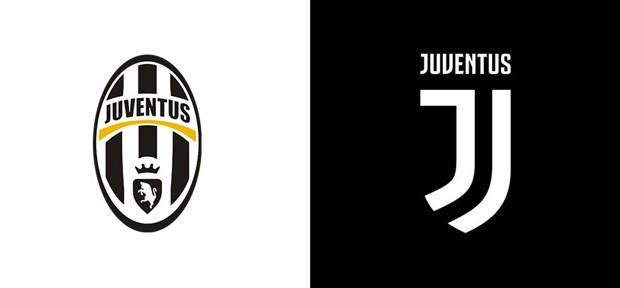 ювентус: новый и старый логотип