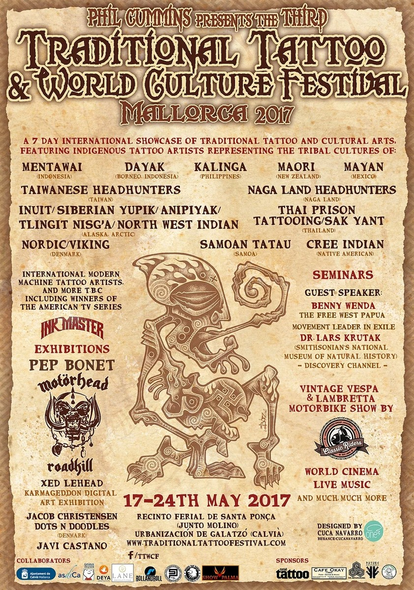 Traditional Tattoo & World Culture Festival 2017