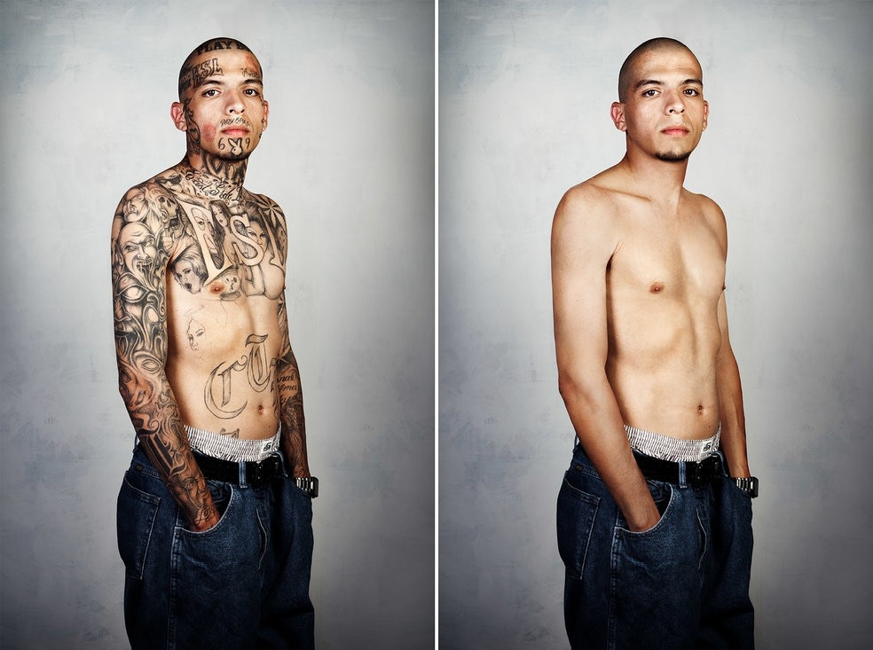 Стив Бартон, Steven Burton, татуировки гангстеров