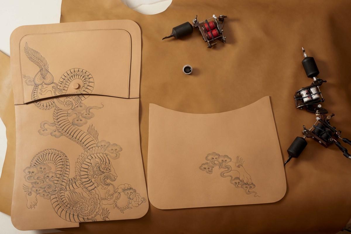 Tod's - татуированные сумки