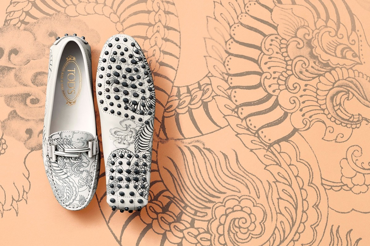 Tod's - татуированная обувь