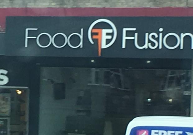 fear factory, логотип, food fusion