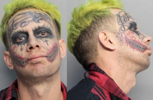 джокер, бэтмен, татуировки