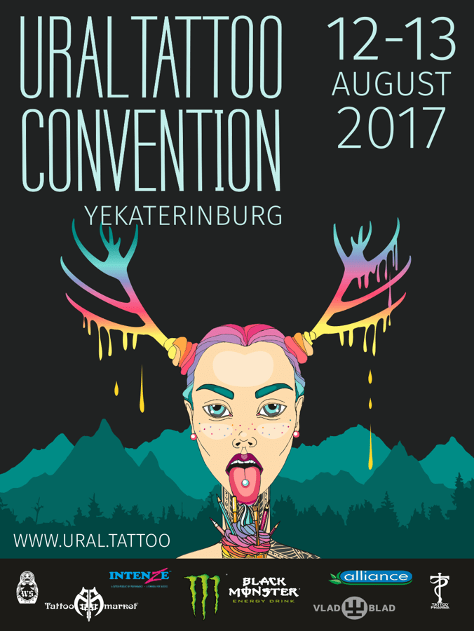 4-я Ural Tattoo Convention 2017