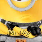 Тату-постеры для рекламы мультфильма «Гадкий я 3»