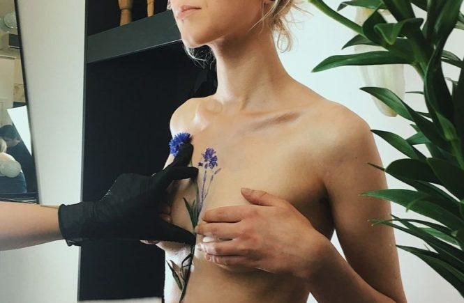 рит кит, rit kit, растения, цветы, маленькие татуировки, укарина, киев