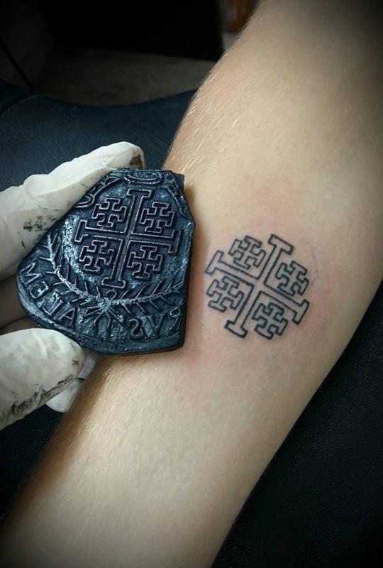 Wassim Razzouk, Иерусалим, копты, паломничество, христианство, крест