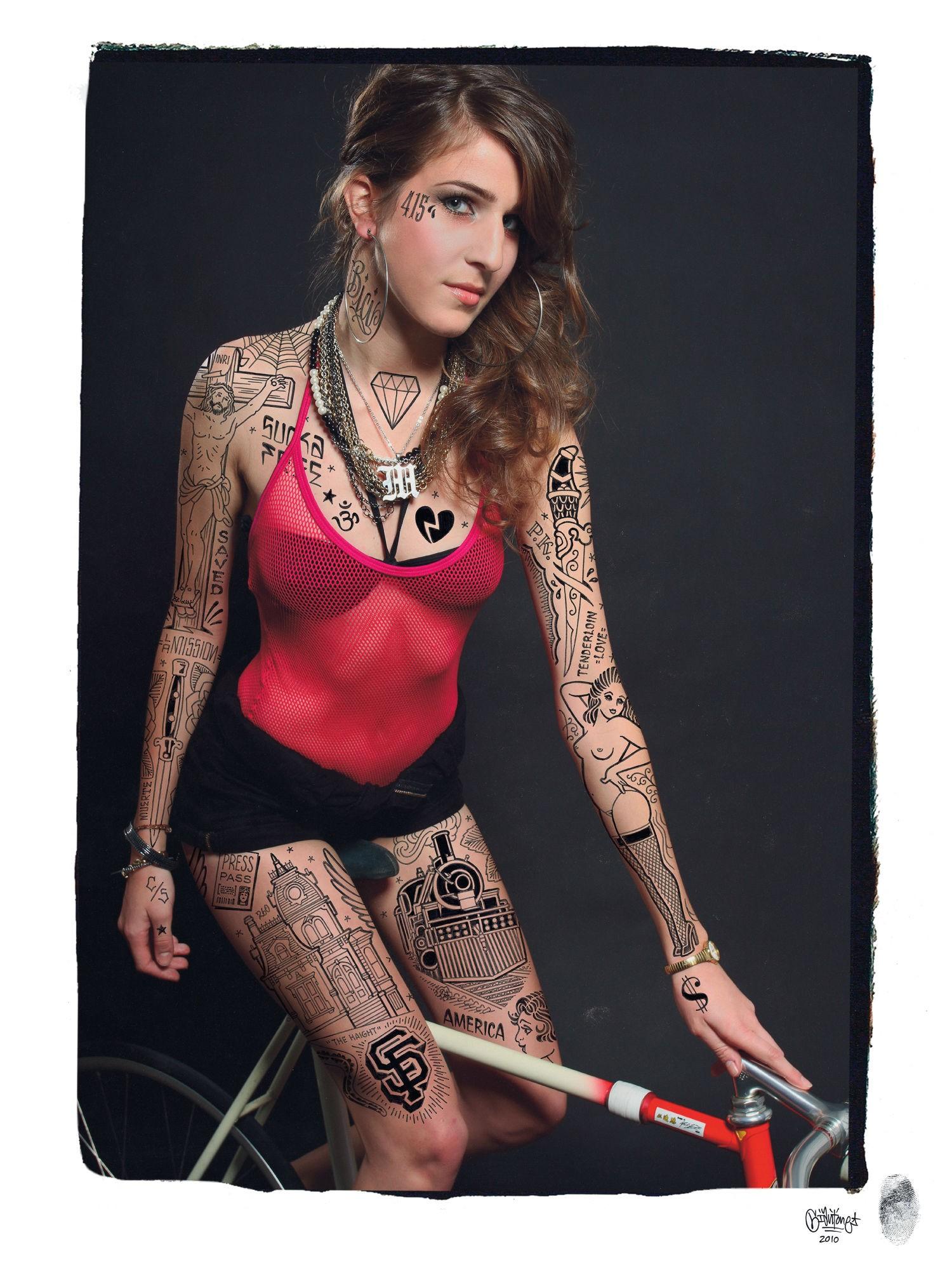 Майк Гигант, Mike Giant, Rebel8, Vans, Dickies, татуировщик, культура чоло, дальтоник