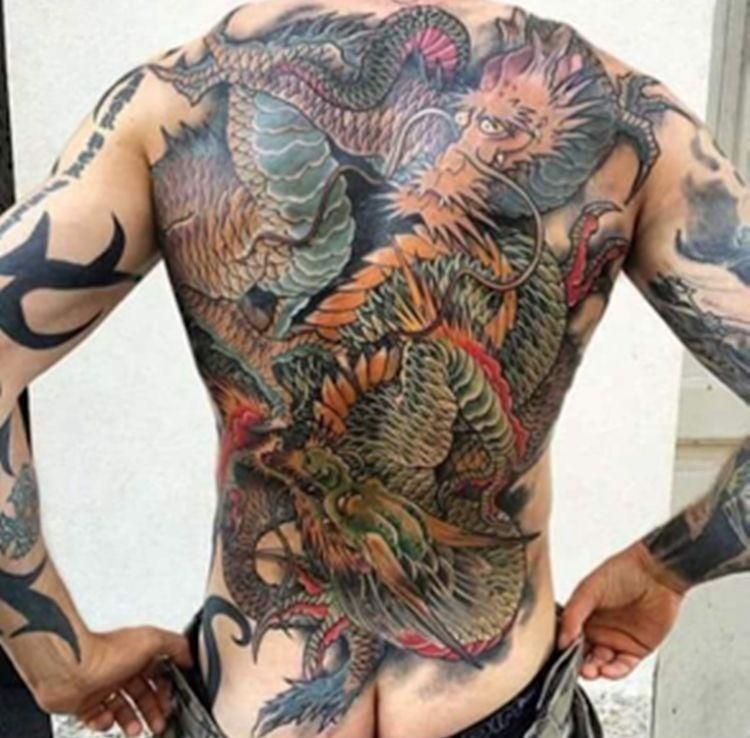 Паоло Дутерте, Родриго Дутерте, Филиппины, Давао, татуировка дракона, триада, Триллэйнс