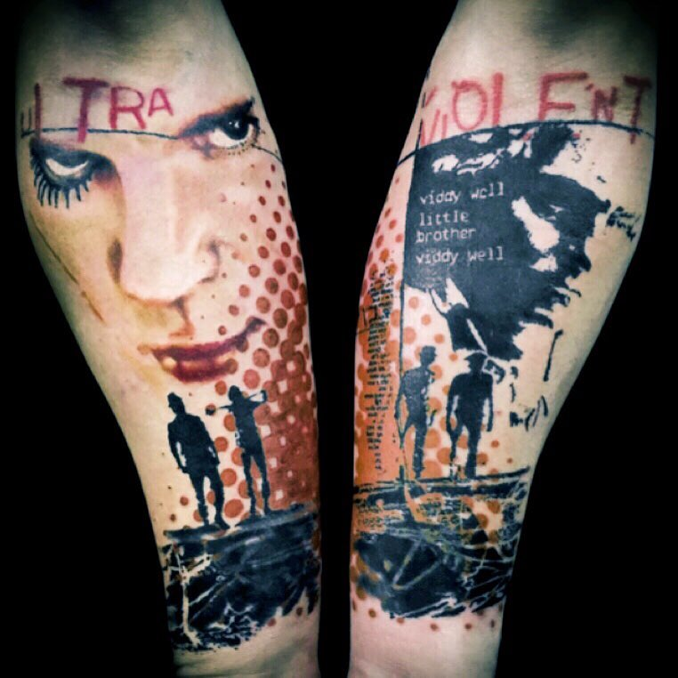 Пол Талбот, Paul Talbot, World Famous Ink, дизайнерский стиль