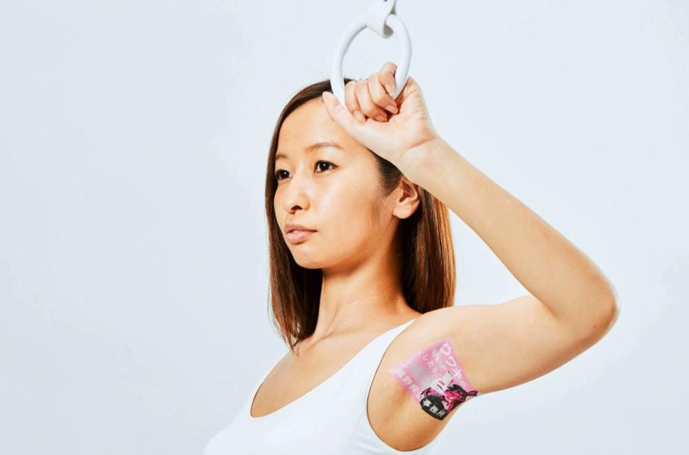 wakino, реклама на подмышках, япония, модели, девушки, бизнес