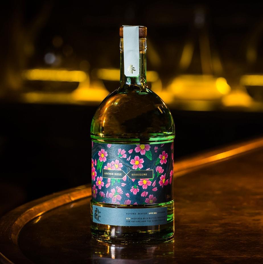весна, Archie Rose, джин, заяц, талисман от сглаза, цветущая сакура, рождение, плодородие