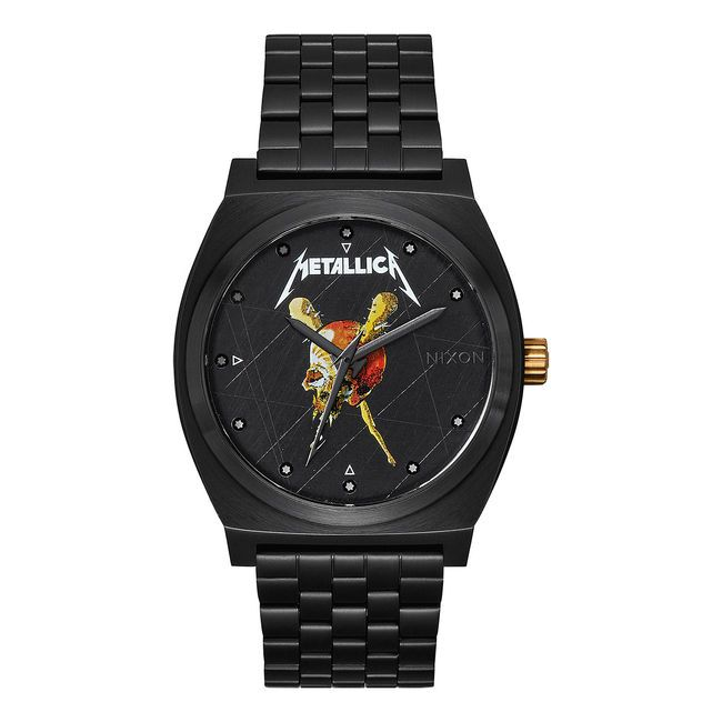 наручные часы, metallica, nixon, эксклюзивная коллекция, подарок металлисту